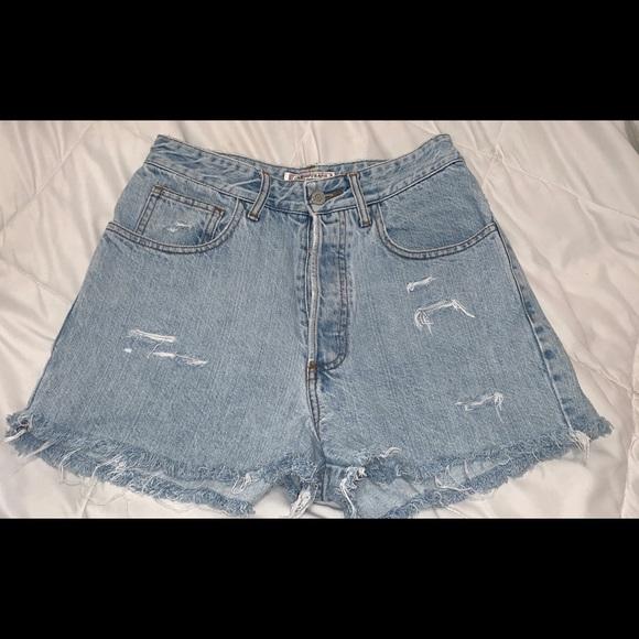 57d4167e2 Guess Shorts   Vintage Womens High Waisted Short Jeans   Poshmark